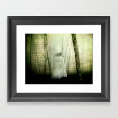 Haunted story Framed Art Print