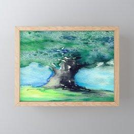 Oak Tree Framed Mini Art Print