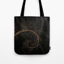 Golden spiral Tree #1 Tote Bag