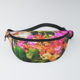 Orchids in the Market Fanny Pack