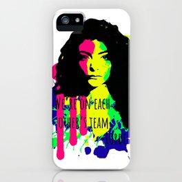 Lorde's Team iPhone Case