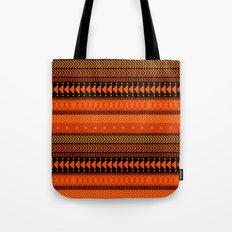 Under the Volcano - tribal geometrics Tote Bag
