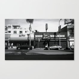 Cahuenga Blvd. Canvas Print