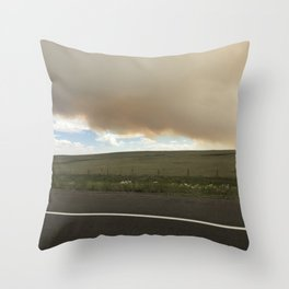 I-25 Storm Throw Pillow