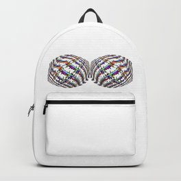 Twin Peaks Rainbow Barbed Wire Security Garment Backpack