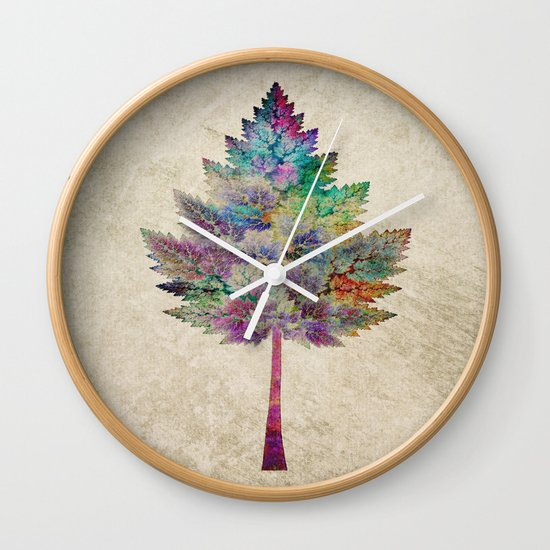 Like a Tree 2. version Wall Clock