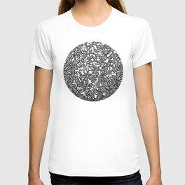 bowl of portraits T-shirt