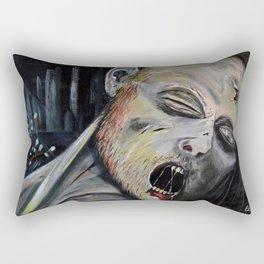 Monday morning zombie Rectangular Pillow