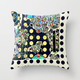 polkapolka Throw Pillow