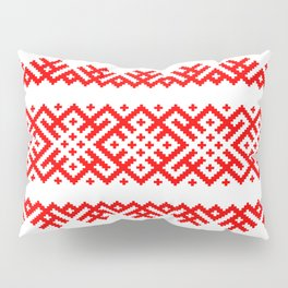 Pattern - Bogoroditsa - Slavic symbol Pillow Sham