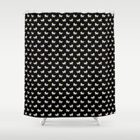 unicorn Shower Curtains featuring Unicorn by Joey Siqueira