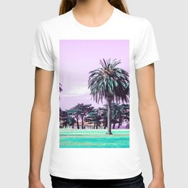 Three palm trees. T-shirt