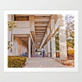 Southern Illinois University Carbondale Art Print