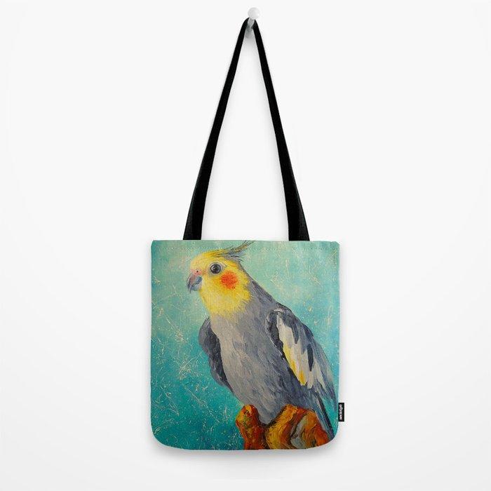 Corella parrot Tote Bag