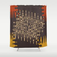 ethnic Shower Curtains featuring Ethnic by Sonia Marazia