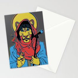 Foxy Shazam Poster Stationery Cards