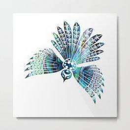 Fantail Metal Print