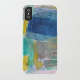 Breath and Space iPhone Case