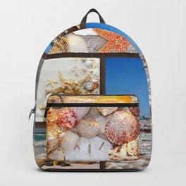 Seashell Treasures From The Sea Backpack