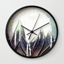 My magical beans garden Wall Clock