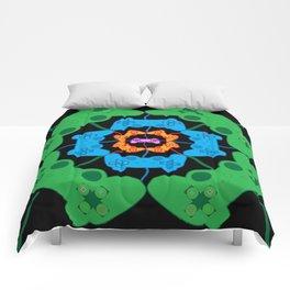 Neon Gaming Comforters
