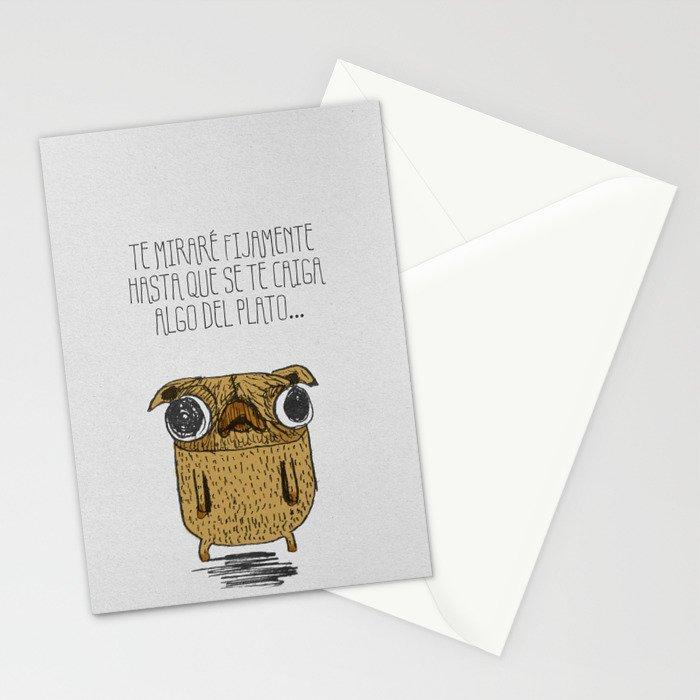 Pug! Stationery Cards