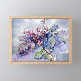 Jester B's Herbal Nutrition Framed Mini Art Print