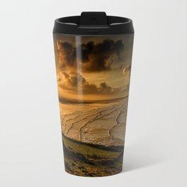 Surfer Sunrise Travel Mug