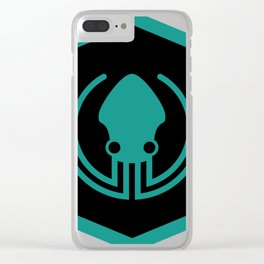 gitkraken developer github occult sigil of the gateway octopus satanism programmer Clear iPhone Case