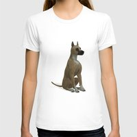 great dane T-shirts featuring The Great Dane by Texnotropio