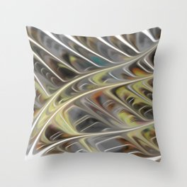 Smudged Colours 11 Throw Pillow