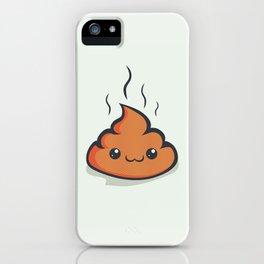 Happy crap! iPhone Case