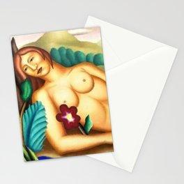 Gorgeous 'Nue dans un paysage exotique' by Manuel Rendón Stationery Cards