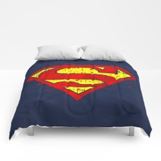 Super Man's Splash Comforters