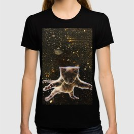 Kitten. In. Space. T-shirt