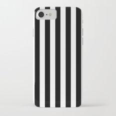 Vertical Stripes (Black/White) Slim Case iPhone 7