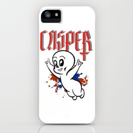 The Friendly Rocker Ghost iPhone Case