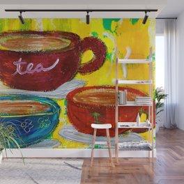 Spill the Tea Wall Mural