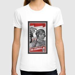 redstarbucks kaffee in soviet style T-shirt