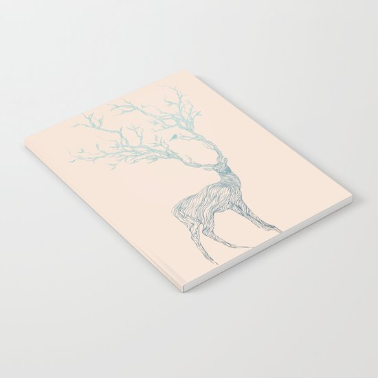 Blue Deer Notebook