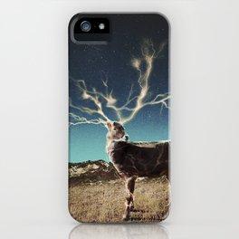 High Voltage Deer iPhone Case