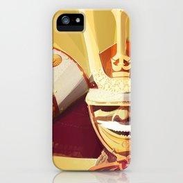 Kabuto - Orange iPhone Case
