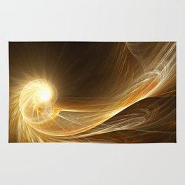 Golden Spiral Rug