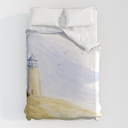 Lighthouse Impressions IV Duvet Cover