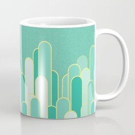 Stripes mint  flavour Coffee Mug