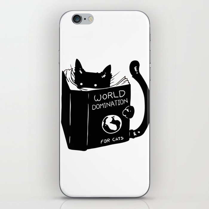 World domination - for cats iPhone Skin