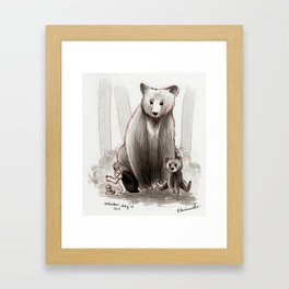 The Bearclan Framed Art Print