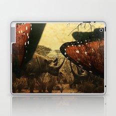 Diorama :: Rhinos Laptop & iPad Skin