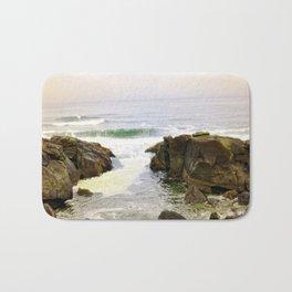 Yachats Oregon - Upon The Rocks Bath Mat