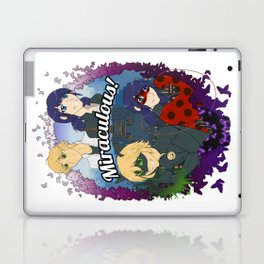 Miraculous Heroes of Paris Laptop & iPad Skin